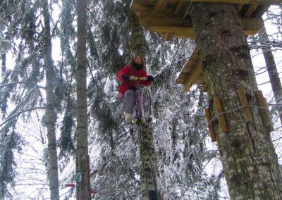 Parcours aventure ouvert été et hiver Haute Savoie